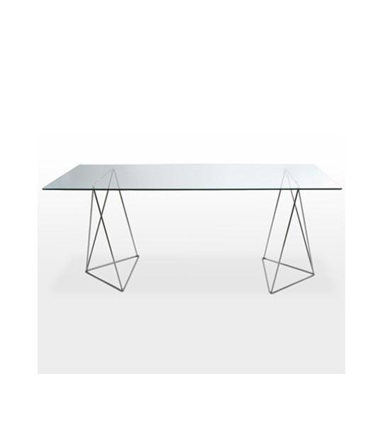 Mesa con caballetes en alquiler para eventos ferias - Mesas con caballetes ...