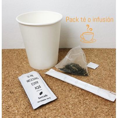 Pack té o infusión