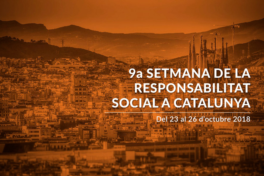 Barcelona Integral brings its rental furniture for events in the 9th Week of Social Responsibility of Catalonia